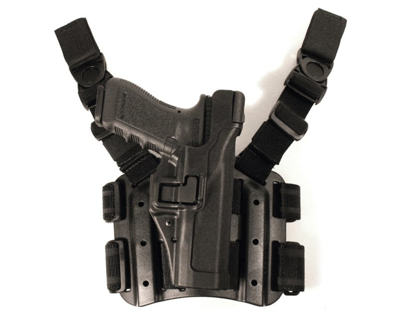 Stehenní holster BLACKHAWK! HK P30-TAC SERPA Level 3