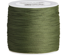 Paracord Atwood Rope MFG Micro Cord Olive, 1m