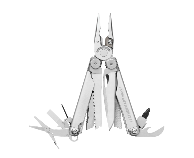 Multifukční nůž Leatherman Wave Plus Silver